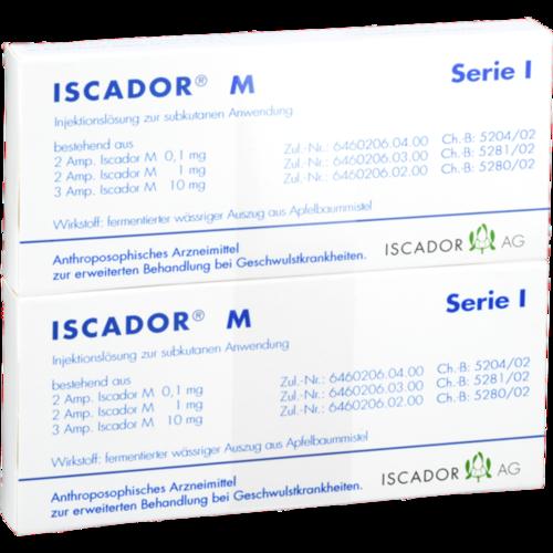 Verpackungsbild(Packshot) von ISCADOR M Serie I Injektionslösung