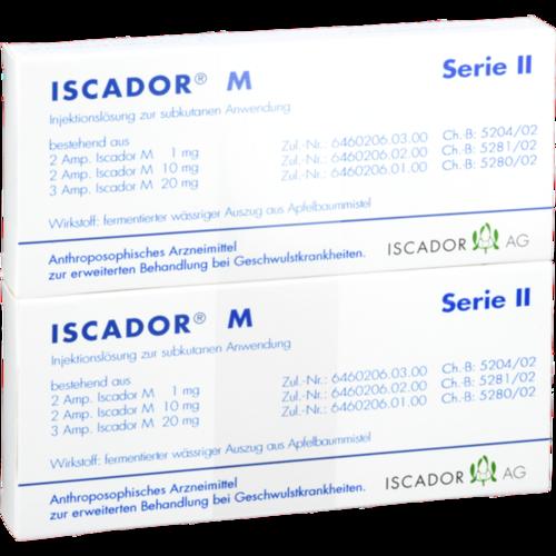 Verpackungsbild(Packshot) von ISCADOR M Serie II Injektionslösung