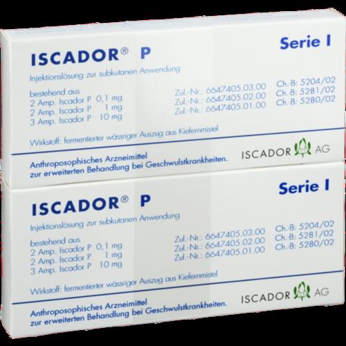 Verpackungsbild(Packshot) von ISCADOR P Serie I Injektionslösung