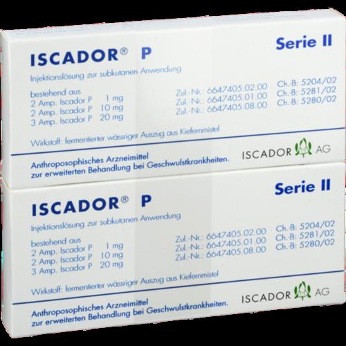 Verpackungsbild(Packshot) von ISCADOR P Serie II Injektionslösung