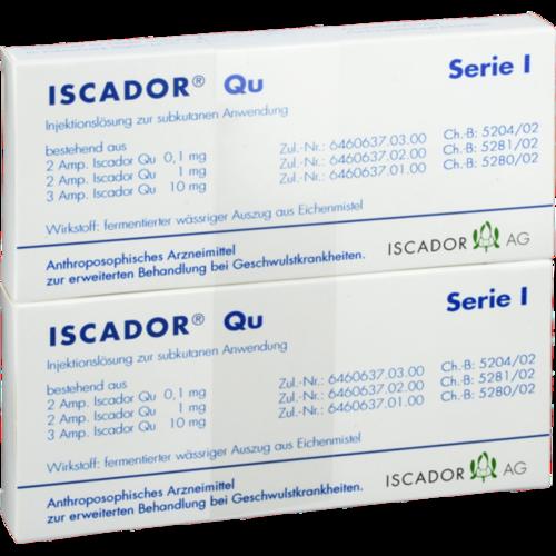 Verpackungsbild(Packshot) von ISCADOR Qu Serie I Injektionslösung