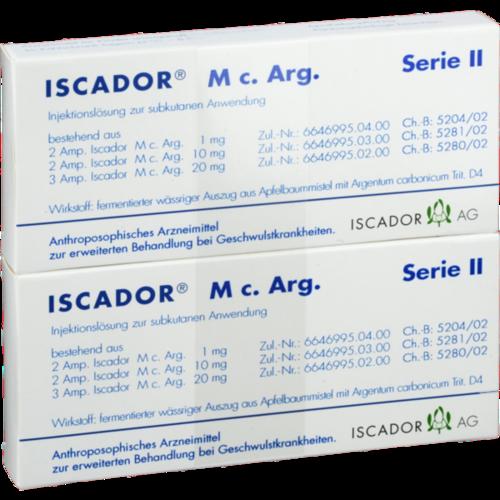 Verpackungsbild(Packshot) von ISCADOR M c.Arg Serie II Injektionslösung