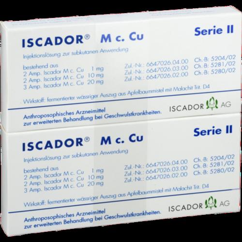 Verpackungsbild(Packshot) von ISCADOR M c.Cu Serie II Injektionslösung