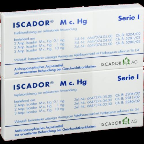 Verpackungsbild(Packshot) von ISCADOR M c.Hg Serie I Injektionslösung