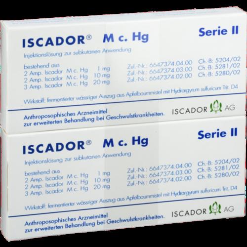 Verpackungsbild(Packshot) von ISCADOR M c.Hg Serie II Injektionslösung