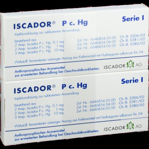 Verpackungsbild(Packshot) von ISCADOR P c.Hg Serie I Injektionslösung