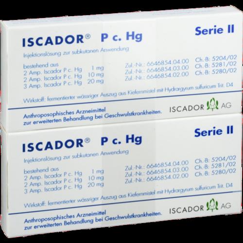 Verpackungsbild(Packshot) von ISCADOR P c.Hg Serie II Injektionslösung
