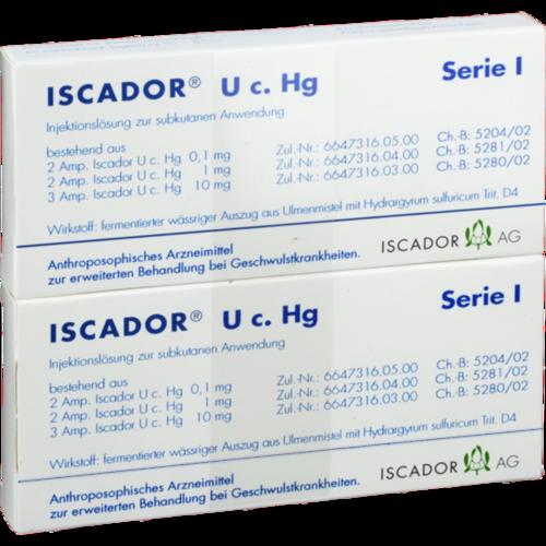 Verpackungsbild(Packshot) von ISCADOR U c.Hg Serie I Injektionslösung