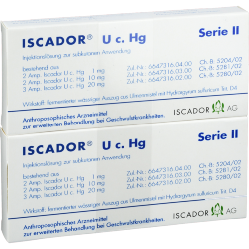 Verpackungsbild(Packshot) von ISCADOR U c.Hg Serie II Injektionslösung