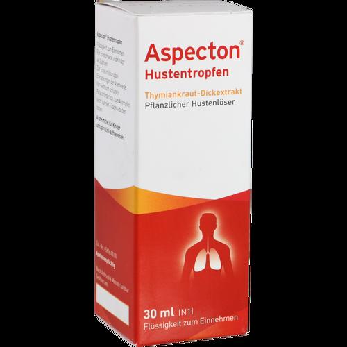 Verpackungsbild(Packshot) von ASPECTON Hustentropfen