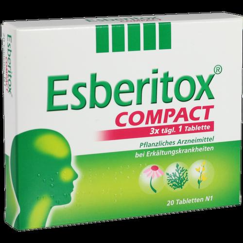 Verpackungsbild(Packshot) von ESBERITOX COMPACT Tabletten