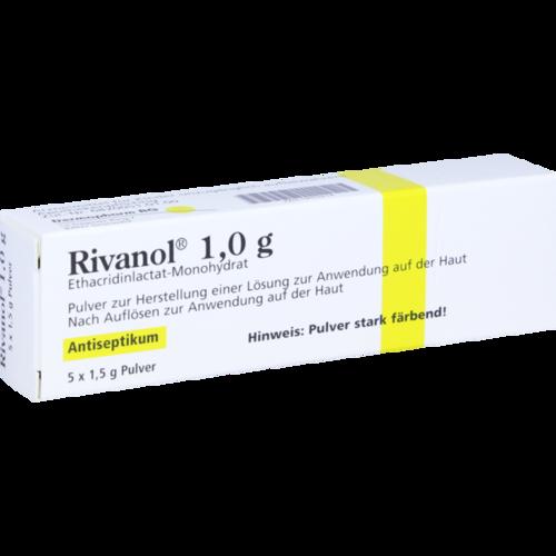 Verpackungsbild(Packshot) von RIVANOL 1,0 g Pulver