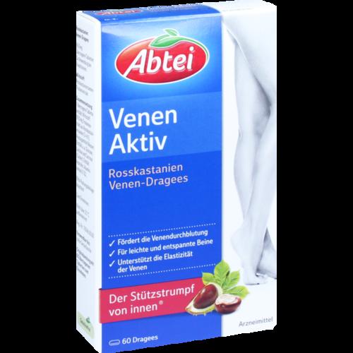Verpackungsbild(Packshot) von ABTEI Rosskastanie Venen-Dragees