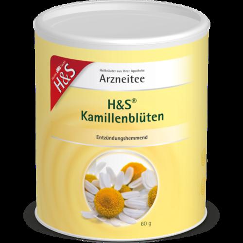 Verpackungsbild(Packshot) von H&S Kamillenblüten lose