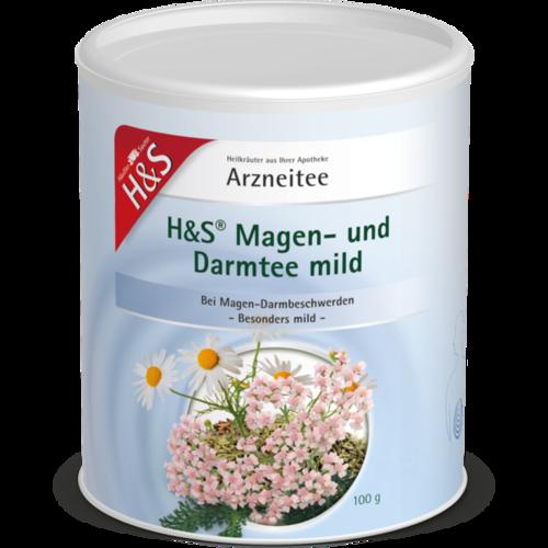 Verpackungsbild(Packshot) von H&S Magen- und Darmtee mild lose