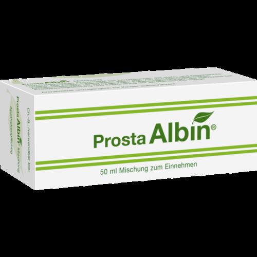 Verpackungsbild(Packshot) von PROSTA ALBIN Tropfen zum Einnehmen