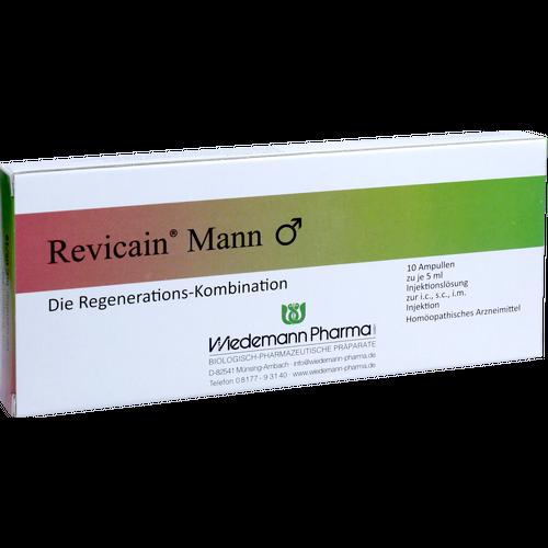 Verpackungsbild(Packshot) von REVICAIN Mann Ampullen