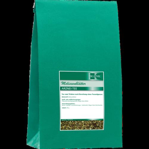 Verpackungsbild(Packshot) von MELISSENBLÄTTER Tee