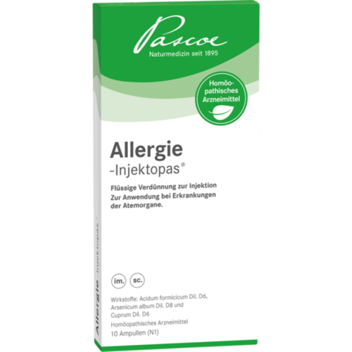 Verpackungsbild(Packshot) von ALLERGIE-INJEKTOPAS Injektionslösung Ampullen