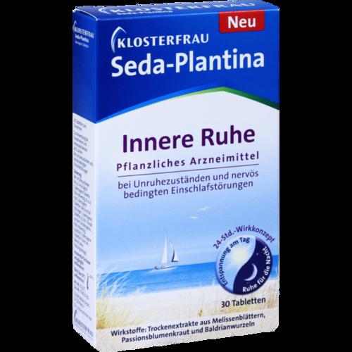 Verpackungsbild(Packshot) von KLOSTERFRAU Seda-Plantina überzogene Tabletten