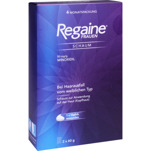 Verpackungsbild(Packshot) von REGAINE Frauen Schaum 50 mg/g