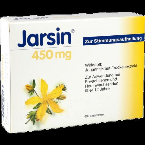 Verpackungsbild(Packshot) von JARSIN 450 mg Filmtabletten