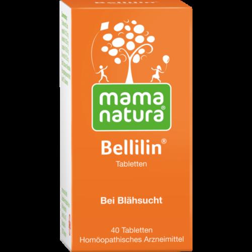 Verpackungsbild(Packshot) von MAMA NATURA Bellilin Tabletten