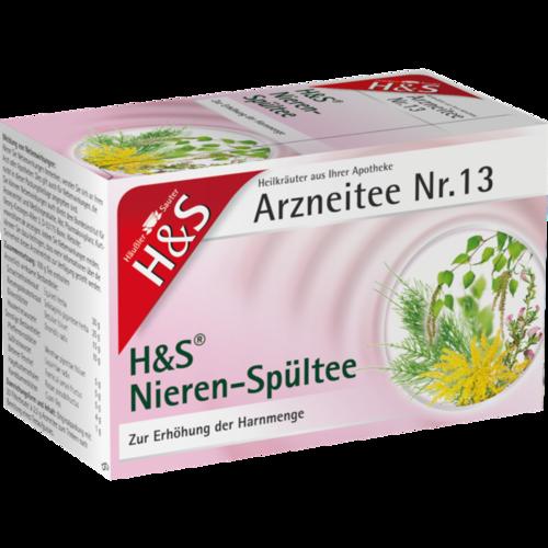 Verpackungsbild(Packshot) von H&S Nieren-Spültee Filterbeutel
