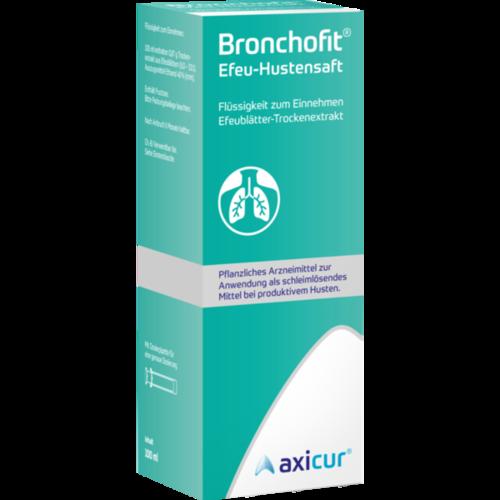 Verpackungsbild(Packshot) von BRONCHOFIT Efeu-Hustensaft 8,7 mg/ml Flüss.z.E.