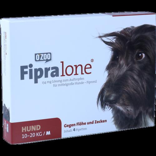 Verpackungsbild(Packshot) von FIPRALONE 134 mg Lsg.z.Auftropf.f.mittelgro.Hunde