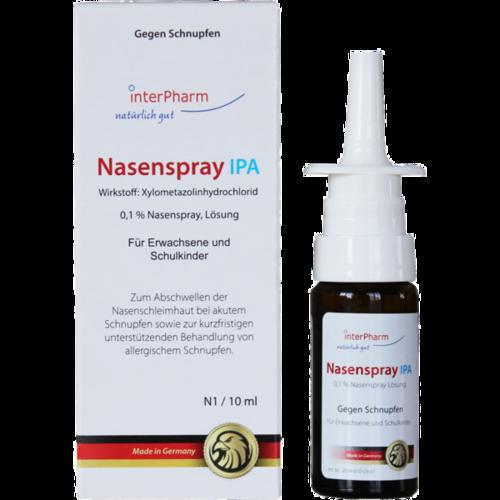 Verpackungsbild(Packshot) von NASENSPRAY IPA Lösung