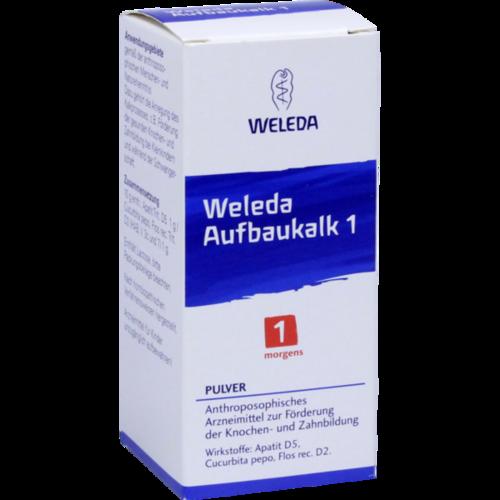 Verpackungsbild(Packshot) von WELEDA Aufbaukalk 1 Pulver