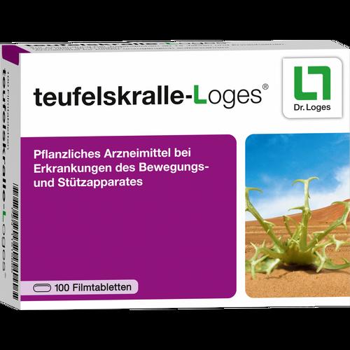 Verpackungsbild(Packshot) von TEUFELSKRALLE-LOGES Filmtabletten