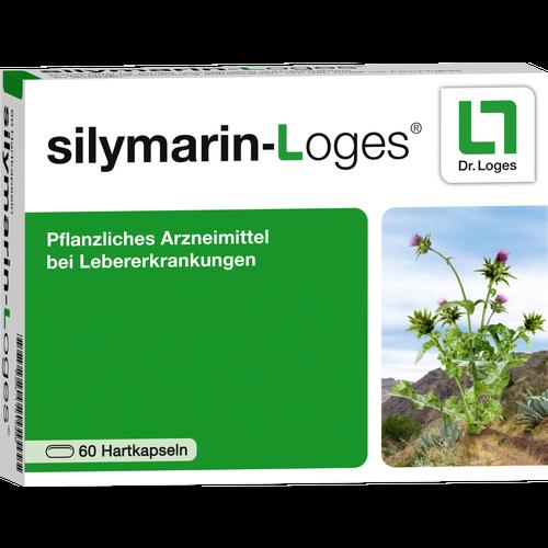 Verpackungsbild(Packshot) von SILYMARIN-Loges Hartkapseln