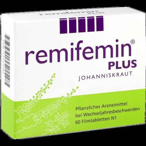 Verpackungsbild(Packshot) von REMIFEMIN plus Johanniskraut Filmtabletten