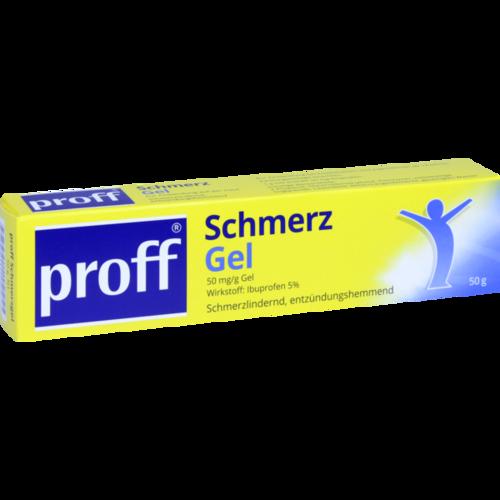 Verpackungsbild(Packshot) von PROFF Schmerzgel 50 mg/g