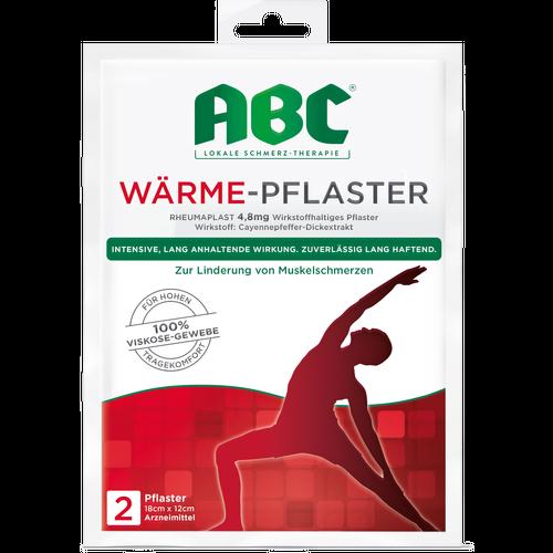 Verpackungsbild(Packshot) von ABC Wärme-Pflaster 4,8 mg
