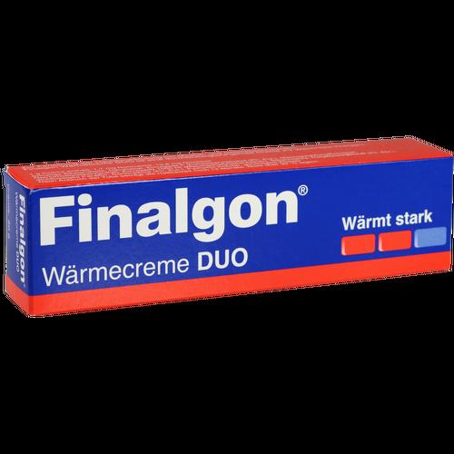 Verpackungsbild(Packshot) von FINALGON Wärmecreme DUO