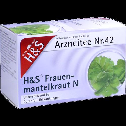 Verpackungsbild(Packshot) von H&S Frauenmantelkraut N Filterbeutel