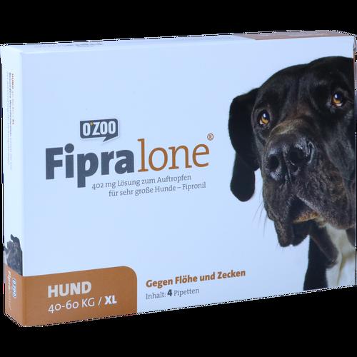 Verpackungsbild(Packshot) von FIPRALONE 402 mg Lsg.z.Auftropf.f.sehr gr.Hunde