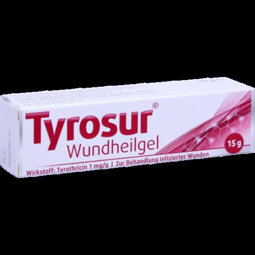 Verpackungsbild(Packshot) von TYROSUR Wundheilgel