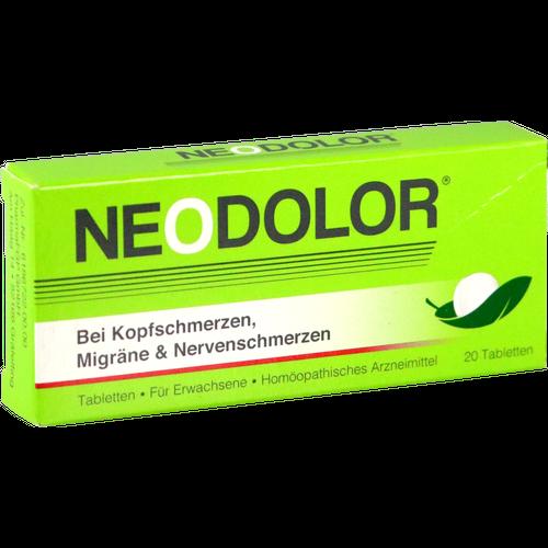Verpackungsbild(Packshot) von NEODOLOR Tabletten