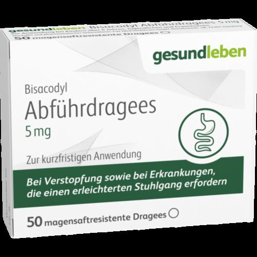 Verpackungsbild(Packshot) von BISACODYL Abführdragees 5 mg