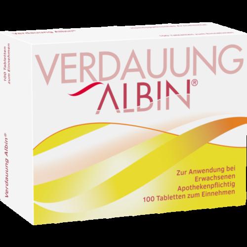 Verpackungsbild(Packshot) von VERDAUUNG ALBIN Tabletten