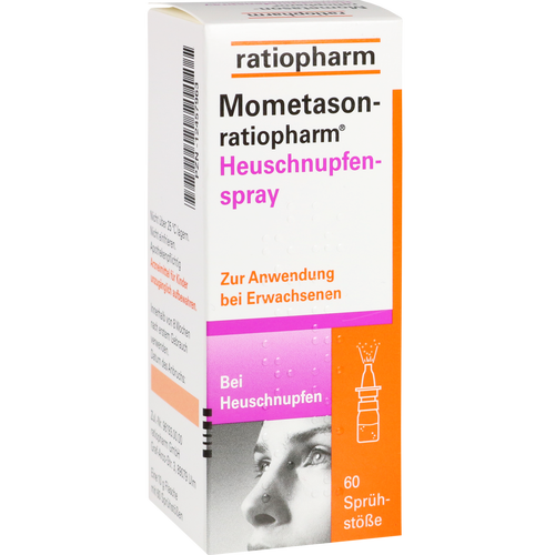 Verpackungsbild(Packshot) von MOMETASON-ratiopharm Heuschnupfenspray