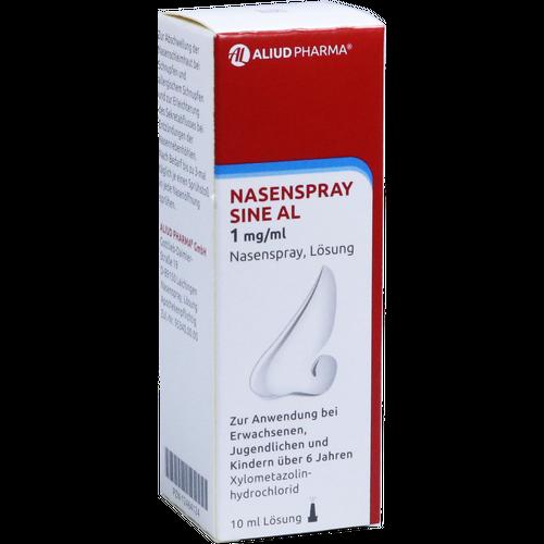 Verpackungsbild(Packshot) von NASENSPRAY sine AL 1 mg/ml Nasenspray