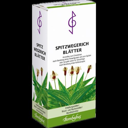 Verpackungsbild(Packshot) von SPITZWEGERICHBLÄTTER Tee