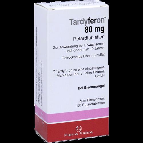 Verpackungsbild(Packshot) von TARDYFERON Retardtabletten