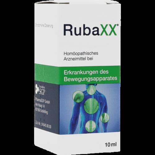 Verpackungsbild(Packshot) von RUBAXX Tropfen