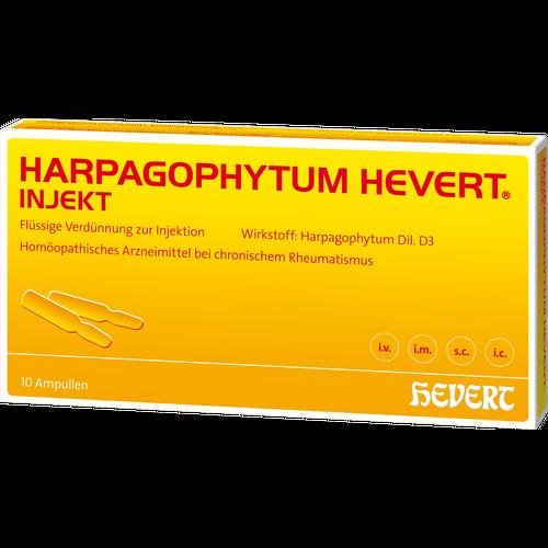 Verpackungsbild(Packshot) von HARPAGOPHYTUM HEVERT injekt Ampullen